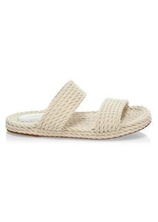 Zimmermann Rope Slide Sandals