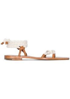 Zimmermann rope tie flat sandals