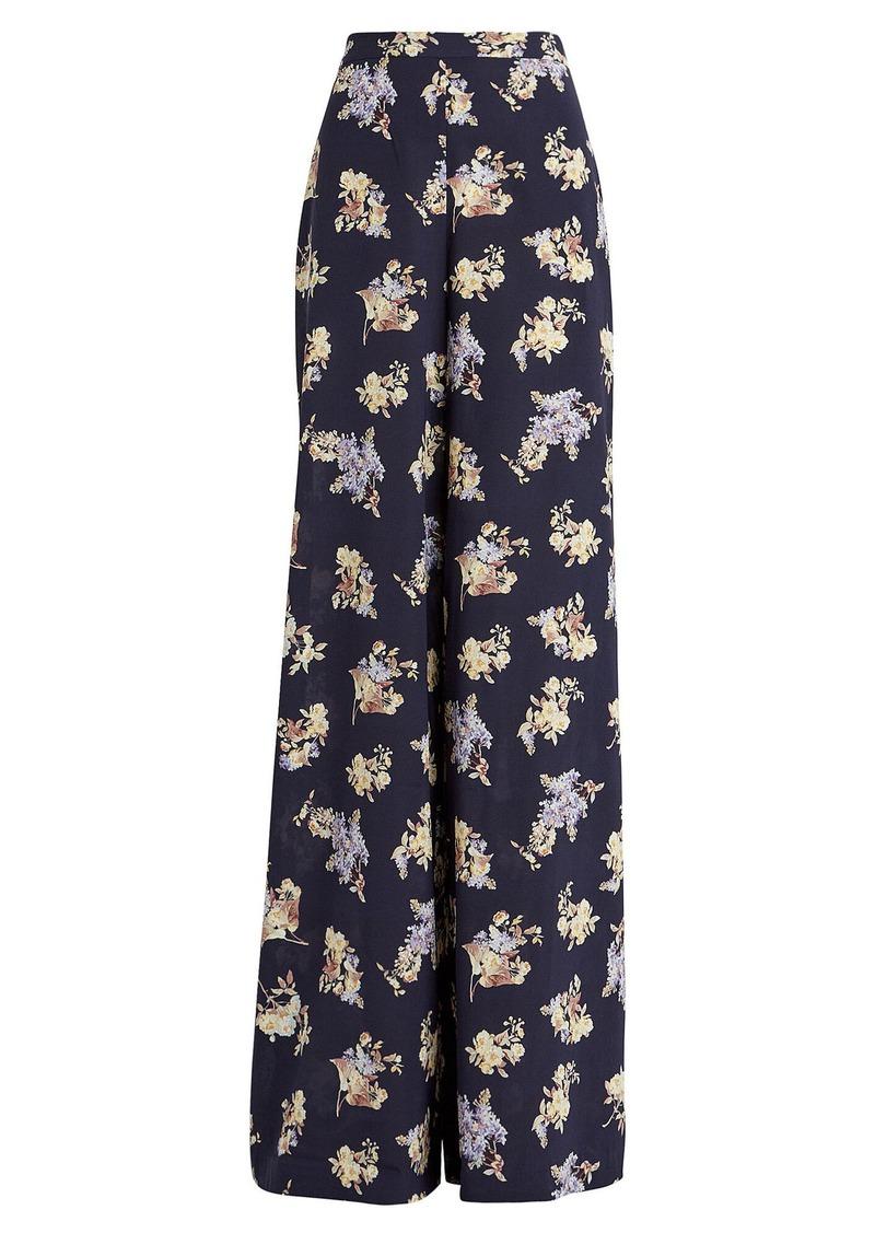 Zimmermann Sabotage Wide-Leg Floral Trousers