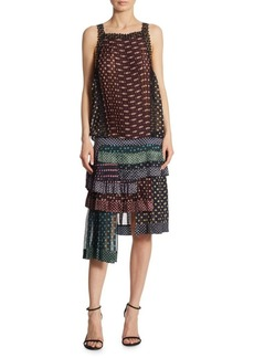 Zimmermann Sportive Layered Printed Dress