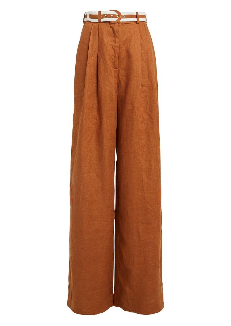 Zimmermann Super Eight Linen Trousers