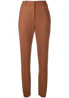 Zimmermann tapered tartan trousers