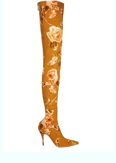 Zimmermann Thigh-High Floral Boots