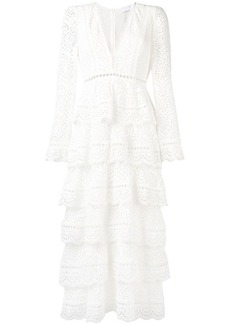 Zimmermann tiered cut out dress