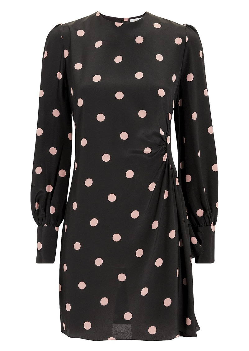 Zimmermann Unbridled Polka Dot Mini Dress