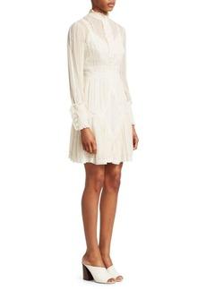 Zimmermann Unbridled Tucked A-Line Dress