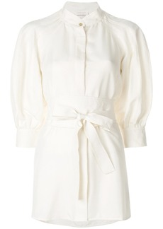 Zimmermann waist-tied shirt dress