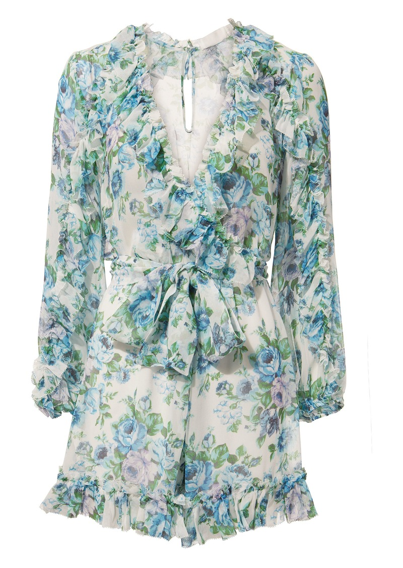 ee2a340970a Zimmermann Whitewave Ruffle Playsuit