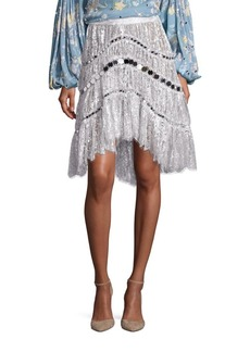 Zimmermann Adorn Crystal Lace Skirt