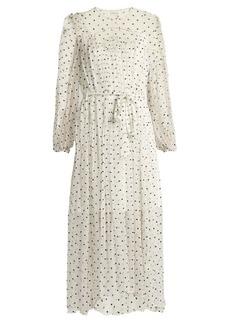 Zimmermann Adorn embroidered silk-chiffon dress