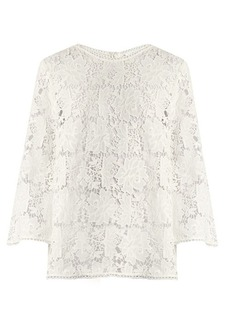 Zimmermann Aerial guipure-lace top