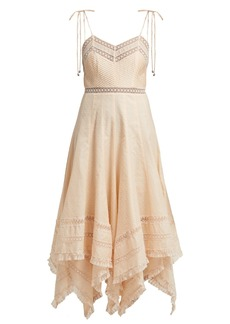 1724dc3edc Zimmermann Kali Daisy broderie anglaise cotton and lace playsuit ...