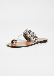 Zimmermann Braided Sandals