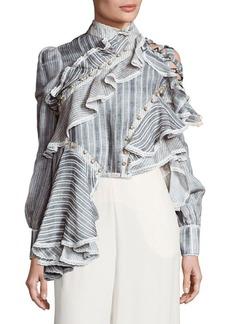 Zimmermann Cavalier Antique Striped Shirt