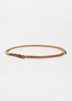 Zimmermann Chain Leather Belt