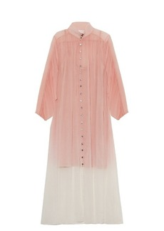 Zimmermann Chroma silk-georgette dress