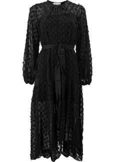 Zimmermann confetti detailed midi dress - Black
