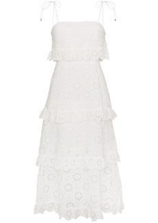 Zimmermann Cotton Lunmino Daisy Dress - White