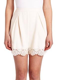 Zimmermann Crepe Lace Tuck Short