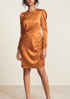 Zimmermann Draped Mini Dress