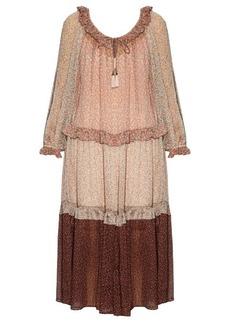 Zimmermann Eden floral-print crepon dress