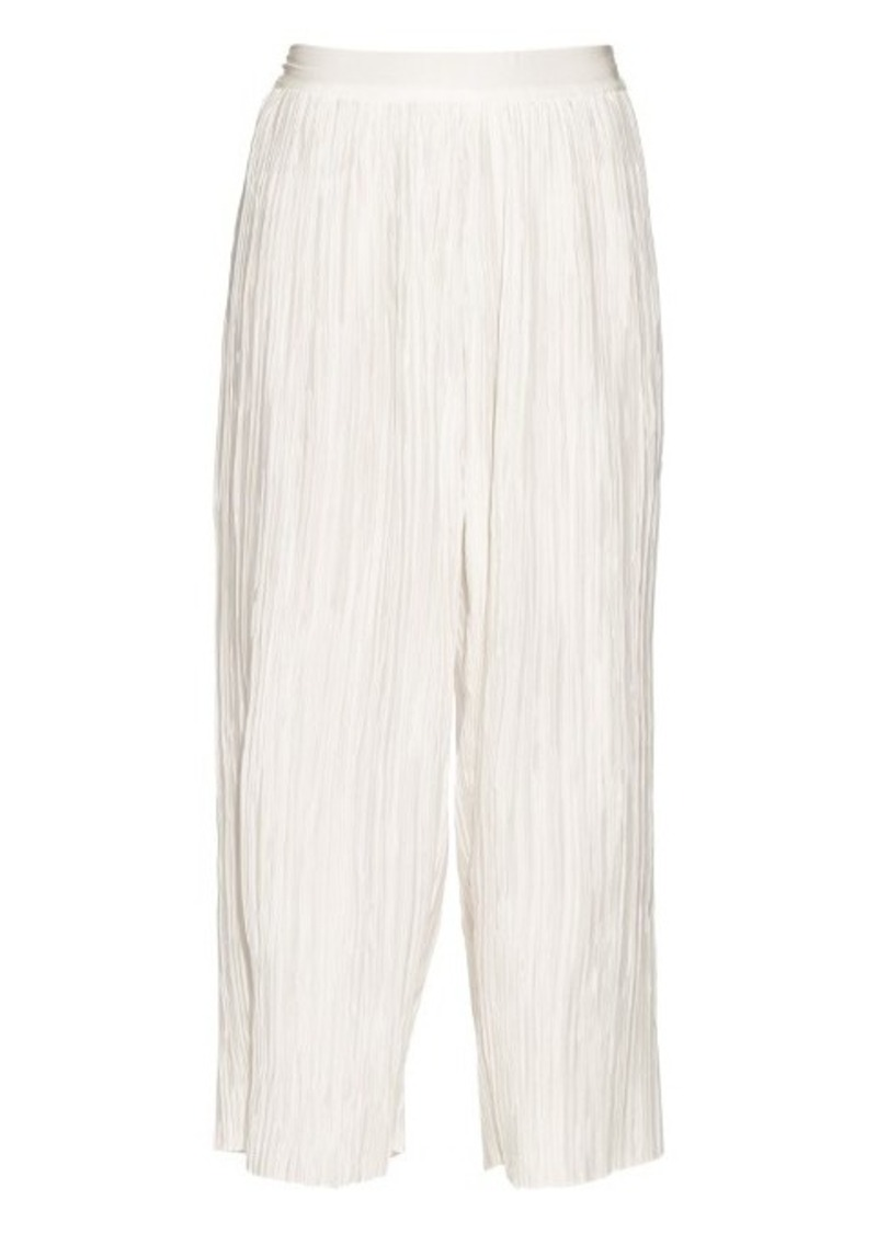 Zimmermann Empire Plisse high-rise pleated culottes
