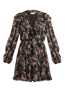 Zimmermann Fleeting Flounce mini dress