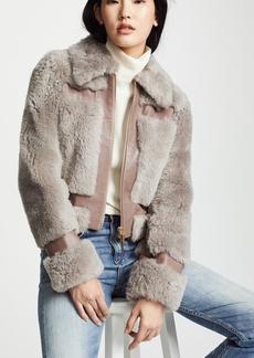 Zimmermann Fleeting Shearling Jacket