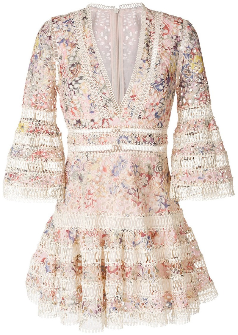 Zimmermann floral mini dress - Multicolour