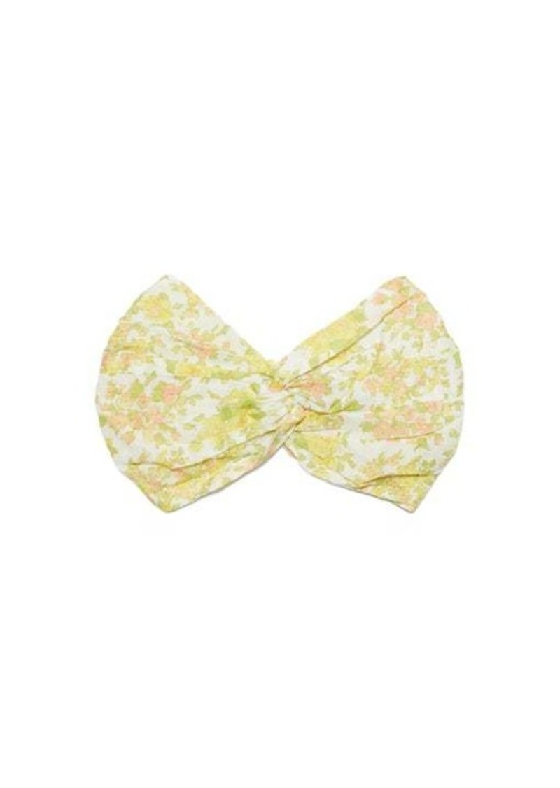 Zimmermann Floral-print cotton headband