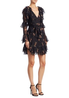 Zimmermann Folly Fit-&-Flare Silk Dress