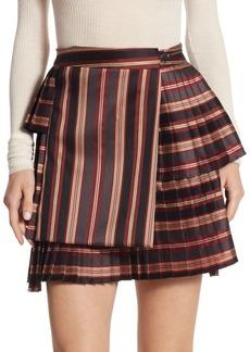 Zimmermann Folly Uniform Striped Skirt