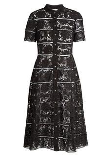 Zimmermann Gossamer bell-lace cotton dress