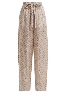 Zimmermann Heathers floral-print cotton trousers
