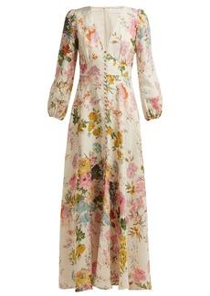 Zimmermann Heathers floral-print linen dress