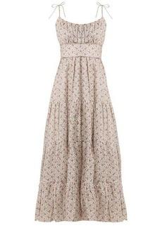 Zimmermann Heathers tiered floral-print linen dress