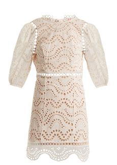 Zimmermann Jaya Wave cotton dress