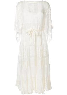 Zimmermann lace midi dress - White