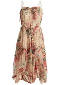 Zimmermann Laelia floral-print silk dress