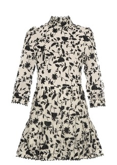 Zimmermann Master ruffle-trimmed embroidered dress