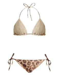 Zimmermann Melody crochet bikini set