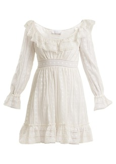 Zimmermann Melody ladder-lace dress