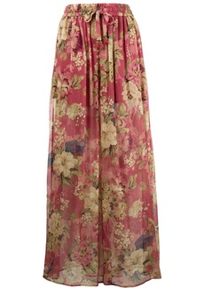Zimmermann melody wide-leg trousers - Multicolour
