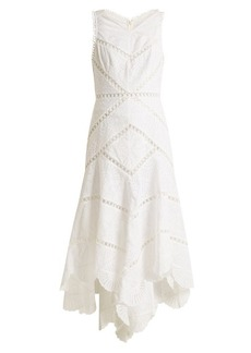 Zimmermann Mercer Fan cotton dress