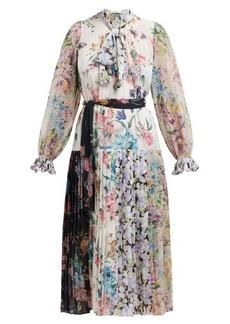 Zimmermann Ninety-Six floral-print crepe de Chine midi dress
