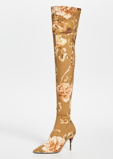 Zimmermann Over The Knee Zip Lycra Boots