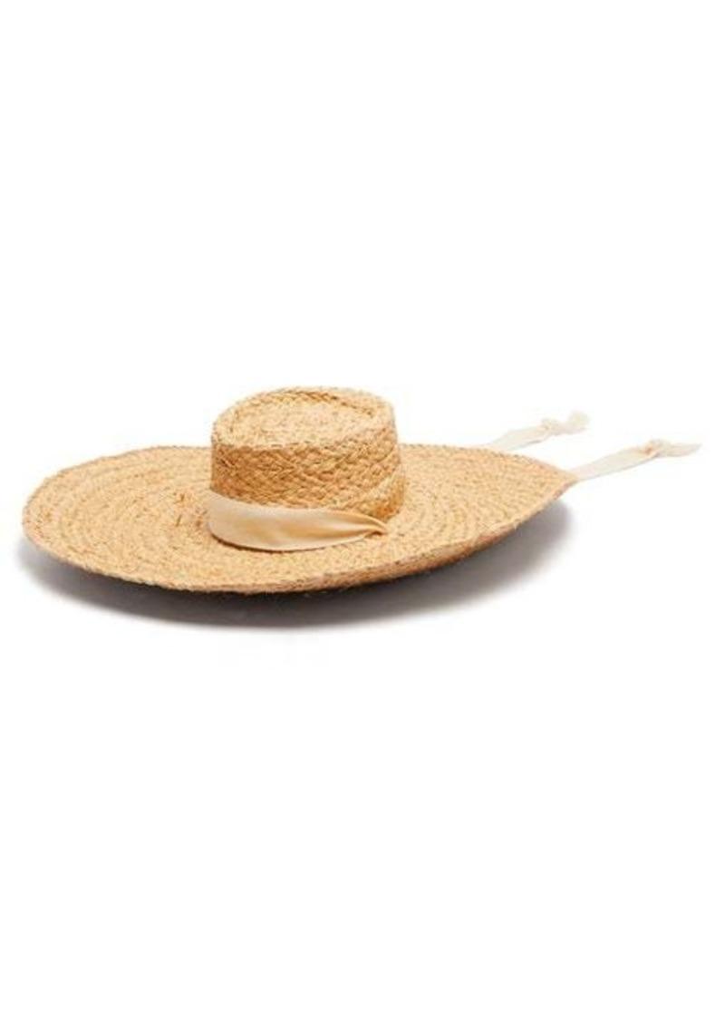 Zimmermann Oversized straw hat