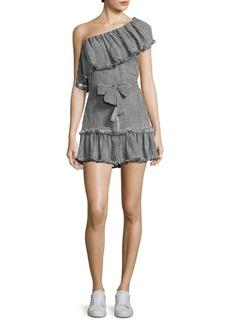 Zimmermann Paradiso Gingham-Print Dress