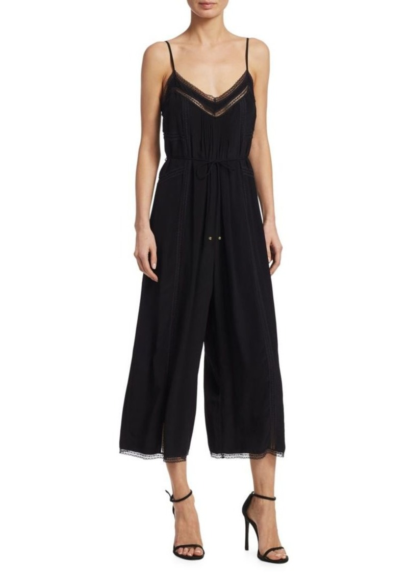4ae8516bb67 Zimmermann Pintuck Wide Leg Cropped Jumpsuit Now  255.00