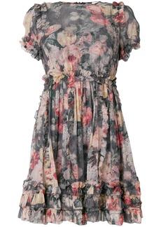 Zimmermann Radiate Ruffle Mini dress - Multicolour